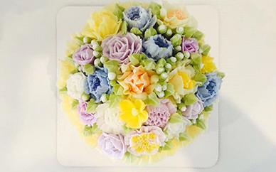 网红生日蛋糕裱花课程18天培训班