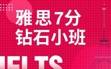 武汉新通雅思7分砖石课程小班