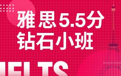 武汉新通雅思5.5砖石培训小班
