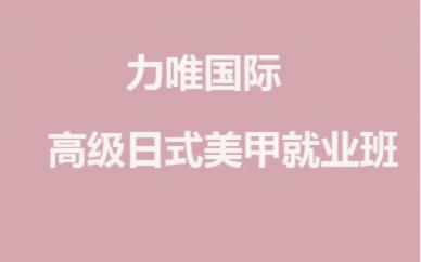 武汉力唯形象设计美甲培训课程