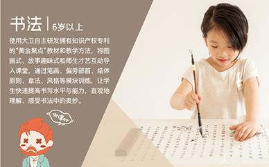 武汉大卫美术少儿书法课程