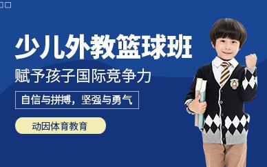 深圳外教少儿篮球培训班