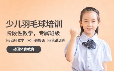 北京青少年羽毛球培训课程