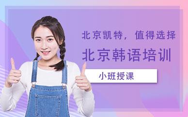 北京凯特韩语培训课程