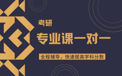 天津考研专业课一对一培训课程